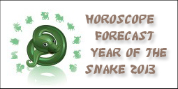 Feng Shui 2013 Horoscope Forecast